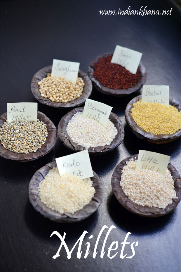 Millets Types Of Millets Benefits Nutrition Information Indian