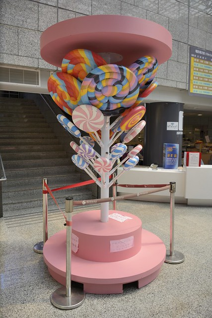 棒棒糖裝置藝術