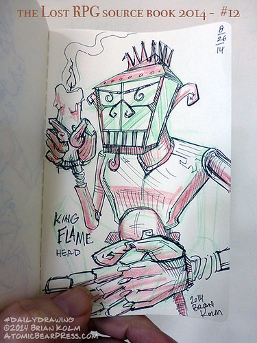 08-26-2014 King Flame Head
