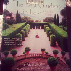 The best book on #italian #gardens . Highly recommend #travel #garden #italy #europe #book
