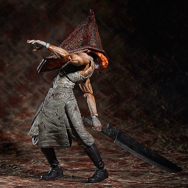 figma推出電玩恐怖大作沈默之丘怪物三角頭!