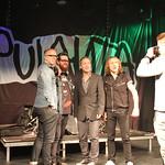 Radio Suomipopin eturivi-keikalla 16.9.2014 Apulanta
