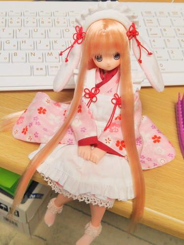 Usamimi Kimono Maid!!