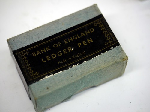 Bank of England Leger Pens - Nib Box - 1