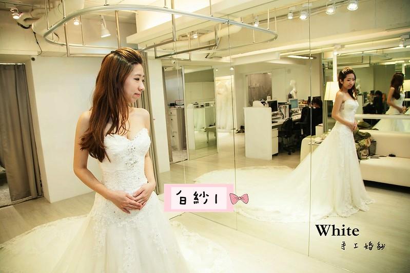 WHITE  白紗1-2