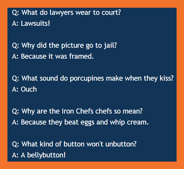 10 best short joke Iron-chef kid jokes, BrianMc myway2fortune.info