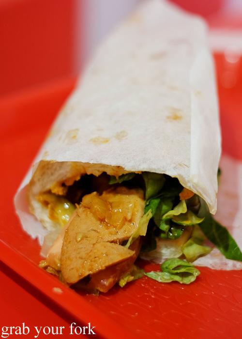 Bandari sandwich at Aria Persian Fast Food, Merrylands