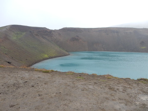 Crater at Krafla