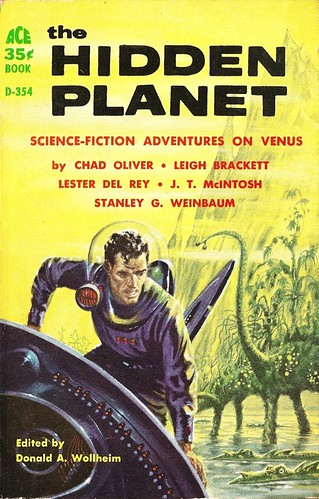 Donald A. Wollheim - The Hidden Planet (Ace D-354, 1959)
