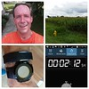 Hot & humid weather arrived as summer closes ... the corn plants are huge!  Got in just shy of 16.5 miles in the heat and sweat!  Still managed a decent ab workout.  Disappointed that this is the second time I had to replace the battery in the Magellan Ec