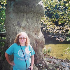 Dianne on the Brandywine River