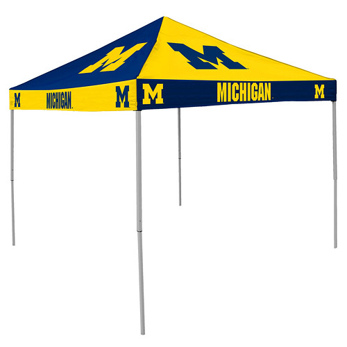 Michigan Wolverines Checkerboard Tailgating Tent  sc 1 st  Tailgatorz & NCAA College Team Canopies aka Easy Up Tent Shelter for Tailgating ...