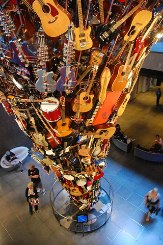 EMP Guitar Sculpture
