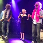 Parhaillaan kolme  Marilyniä lavalla #casinoshowdinner #casinohelsinki #suziekennedy