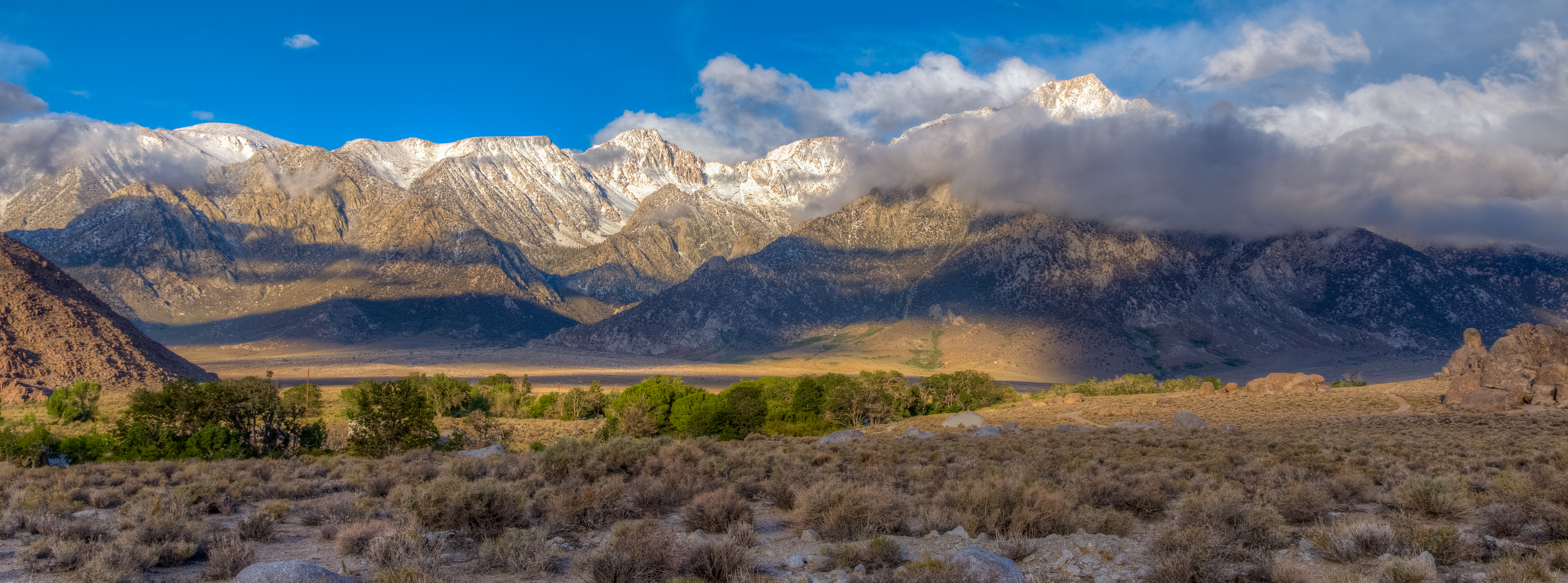Elevation of Lone Pine, CA, USA - Topographic Map ...