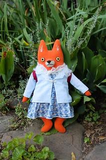 nautical fox girl