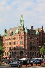 Hafenrathaus Speicherstadt Hamburg