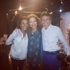 Com o Casal 20 da noite carioca: Alicinha da Silveira e Marco Rodrigues, nobre conterrâneo #BlogAuroradeCinema