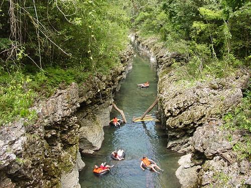 Candelaria cave tubing