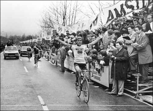 Vittoria di Walter Planckaert all'Amstel '72