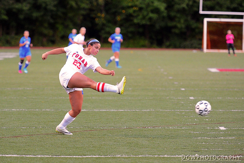 Bunnell vs. Foran - High School Girls Soccer