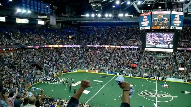 Edmonton Rush win NLL Champions Cup