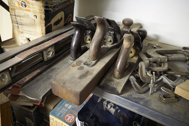 In my father's workshop...