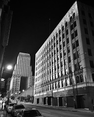 Terra cotta noir #memphis #memphistn #downtownmemphis #tennessee #architecture #architecturelovers #architecturephotography #terracotta #commercialstyle #historicbuilding #sterickbuilding #downtown #noir #bw #blackandwhite #blackandwhitephoto #blackandwhi