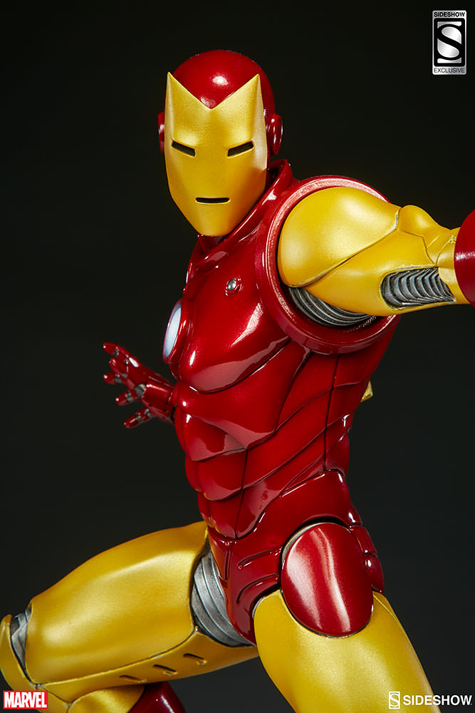 Sideshow Collectibles【鋼鐵人】Avengers Assemble Iron Man 1/5 比例全身雕像作品