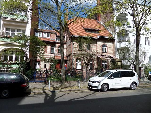 Niedstraße in Friedenau