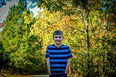 Liam at Trail Head
