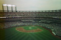 NY Mets vs. LA Dodgers; Flushing, New York