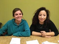 Alyssa and Leah 2016 interns (fall)