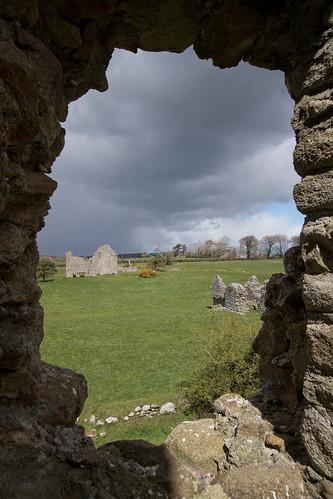 Ballyloughlan Castle window