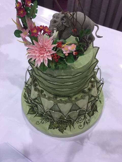 Cake by Chef Nicholas Lodge
