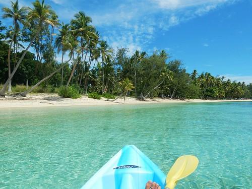 Beach in Nanuya island