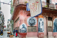 Cuba - La rue, vivante et color�e