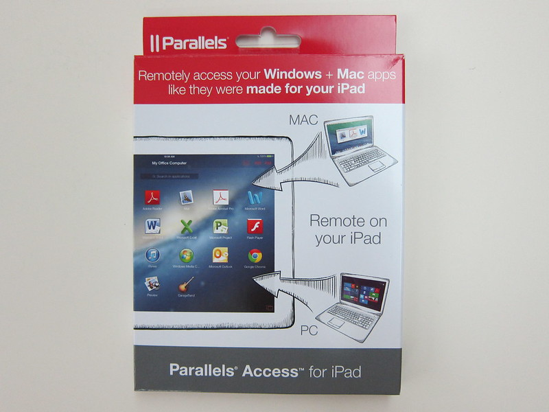 Parallels Access for iPad - Box Front