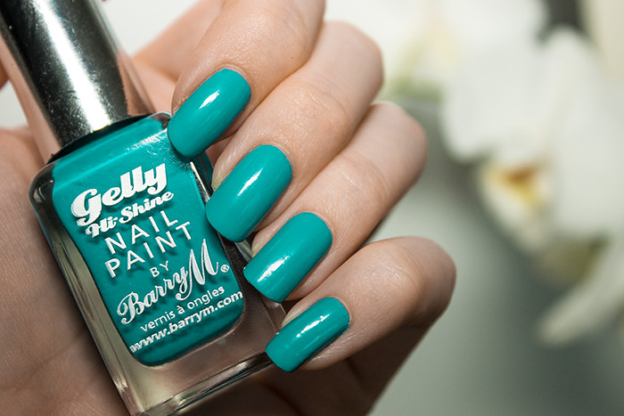 Barry M Hi Shine Gelly Nail Paint in Guava