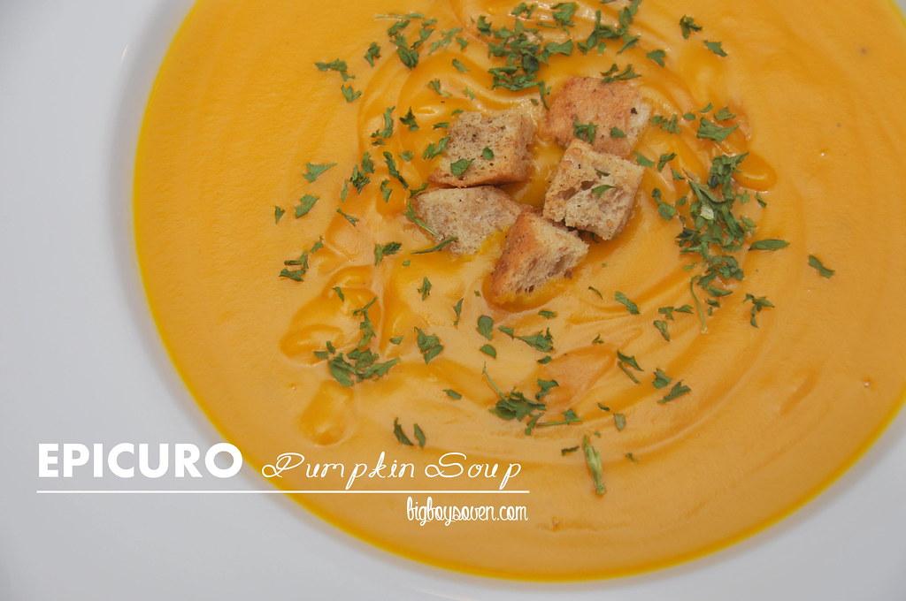 Epicuro Pumpkin Soup