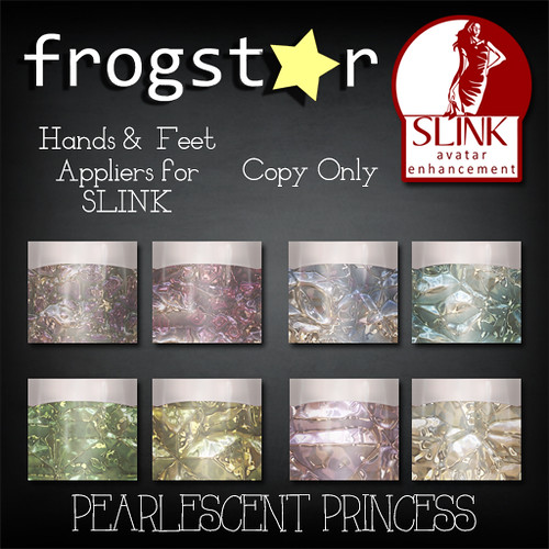 Frogstar - Pearlescent Princess Nails Poster
