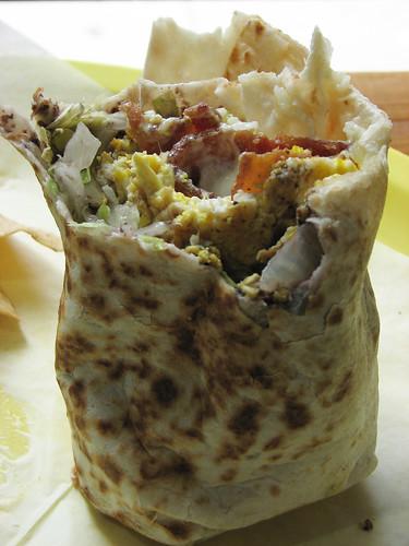 IMG_1618b_Egg + bacon wrap at Spanglais