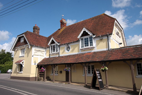 The Crown Inn Cootham near Storrington West Sussex UK