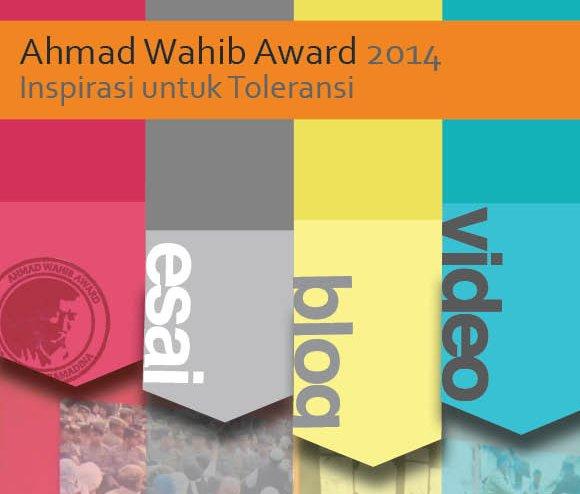 ahmad wahib award