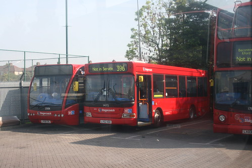 Stagecoach 25306 and 34372, Barking Garage