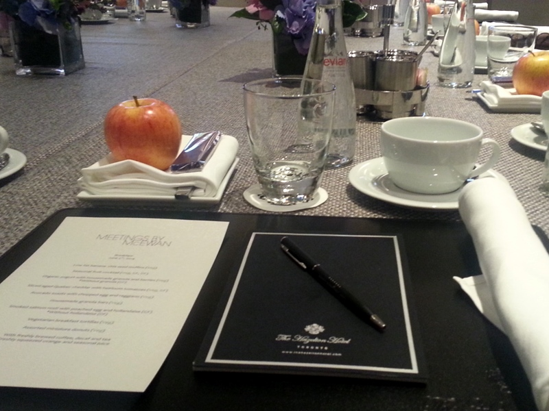 Meetings by McEwan at the Hazelton Hotel