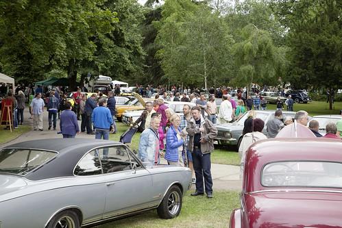 Klassikertreffen an den Opelvillen