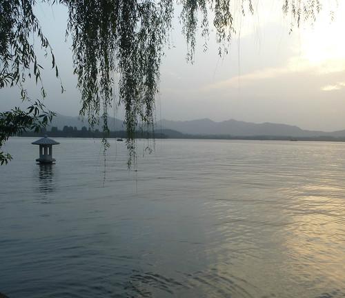 Zhejiang-Hangzhou-Lac Ouest-coucher du soleil 1 (2)