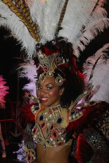 Zomercarnaval Summer Carnaval Street Parade 2014 Rotterdam African Queen Cabo Verde Chegou Kaapverdie Koningin Olivia de Graça