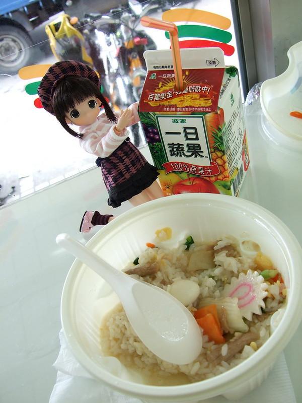 米米&便利商店午餐_三鮮滑蛋燴飯